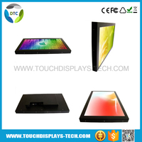 """China kiosk manufacturer 21.5"""" touch screen monitor, indoor digital display board"""
