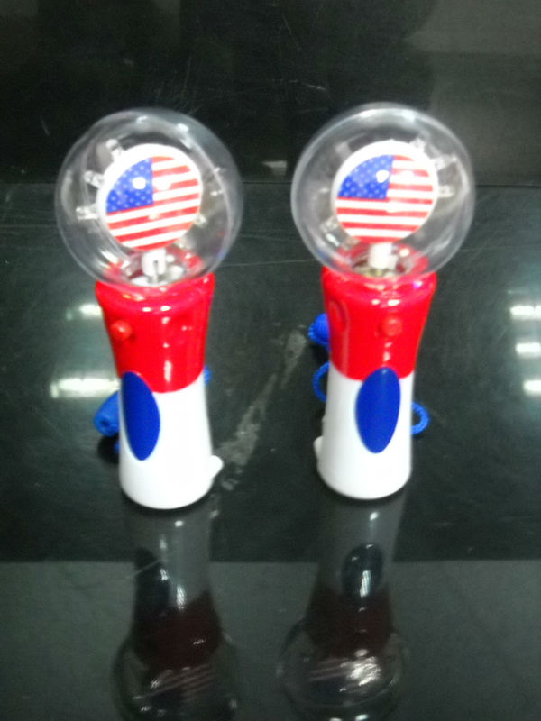 Led light up pumpkin spinner toy spinning ball novelty for Light up fishing spinners