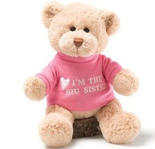 2015 hot selling Animal big toy stuffed teddy bear plush manufacture