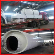 Running well in Thailand for tyre/rubber glue to fuel oil pyrolysis machine