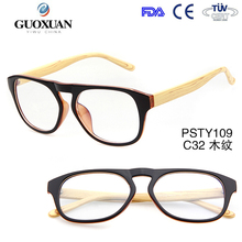 2015 New Wooden Optical Frames Fashion Men Eyeglasses Frames Unisex Optical Glasses Wooden Legs