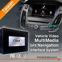Classic ford kuga car gps navigation With gps, canbus steering wheel control DVB-T/DVB-T2