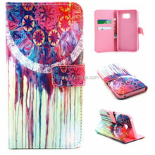 Cheap goods from china IMD PU leather case for samsung note5, for galaxy note5 case with 23 patterns