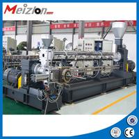 China Top-level Plastic granules making amchineglass fiber granulating line for PP,PE,PA,PVC,PET