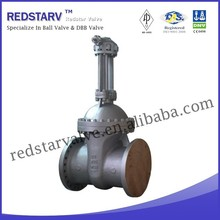 Cast steel API Wedge Disc Rising Stem Gate Valve