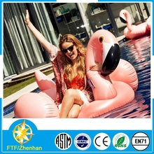 Giant 75in giant inflatable pool float flamingo beach water toy