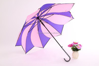 alibaba New clear plastic umbrella gift Plastic umbrella dance props honsen