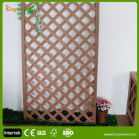 Practical WPC Fence and Decorative Wood Panels and Lattice Fence