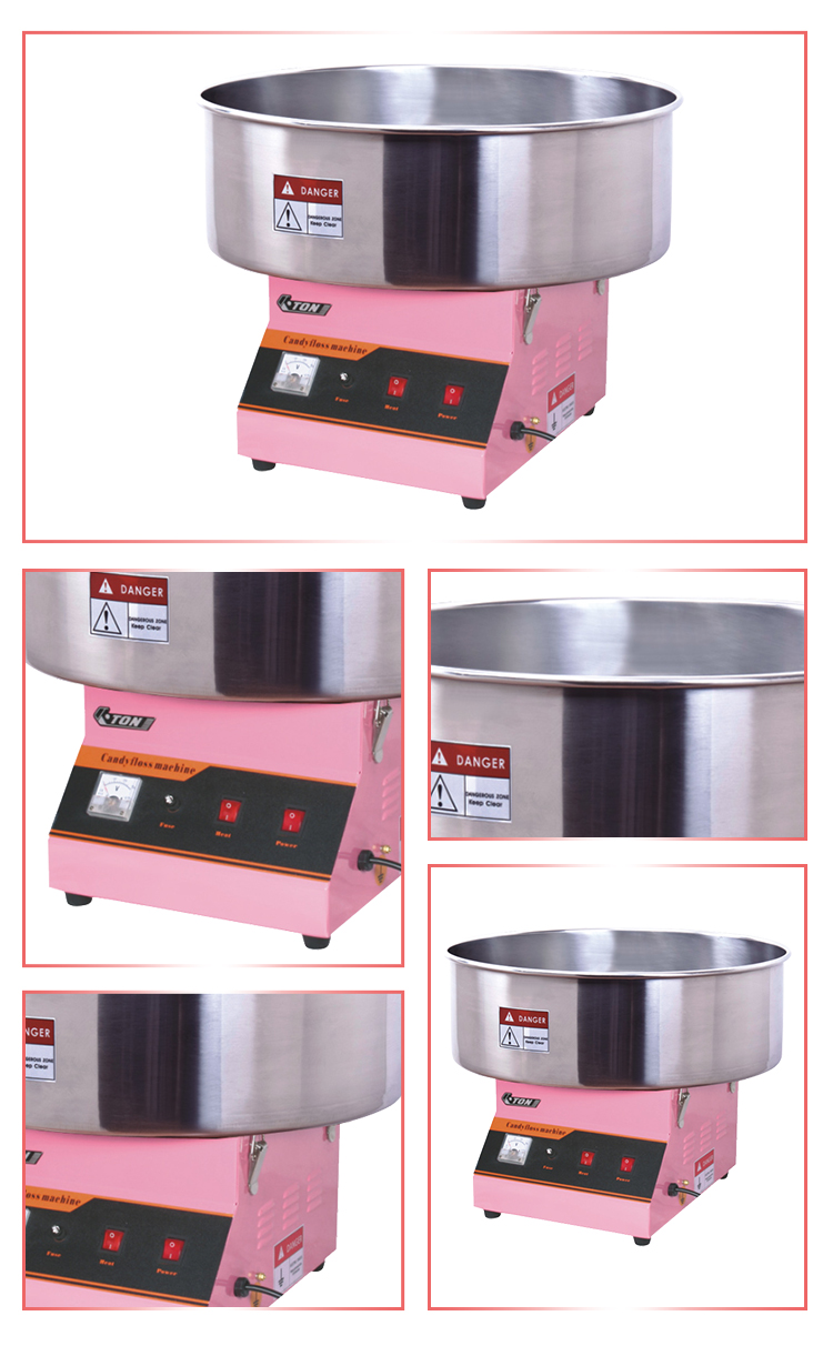 ET-MF03_8 | Guangzhou Eton Electromechanical | Popcorn Machine | Hot Dog Roller | Fryer | Soya Milk Machine | Cotton Candy Machine | Snack Equipment | Panini Grill | Griddle | Deep Fryer | Warming Showcase | Ice Blender | Chocolate Fountain | Roaster