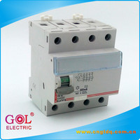Wenzhou wholesales GB64 4 pole earth leakage circuit breaker