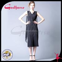 Button Design Ladies Formal Skirt, Fashion Dresses