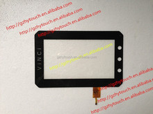 6H Surface Hardness capacitive touch screen for VINCI