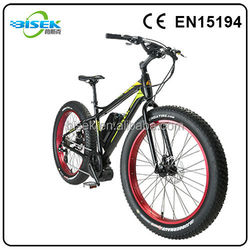 New electric bicycle with smart charger with soft comfortable saddle