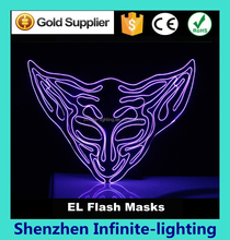 Decoration mask for Halloween And Dance Party, luminous mask masquerade party decoration