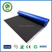 black EVA with blue aluminum film high-quality silent underlayment