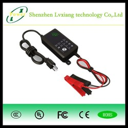12V Lead-Acid Overcharge Protecting Motorcycle/Bike/Quad Battery Charger