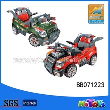 2015 hot sell remote control battery operated ride on cars for children