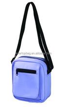 Fashion blue purple flexible adjusted woman shoulder bag