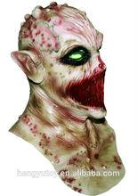 marca nuevo sedientos de sangre alien deluxe monstruo de látex para adultos el silencio mortal máscara