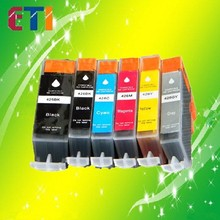 Refillable Ink Cartridge Ink Refill Kit with Chip and Dye Ink Compatible for use in Canon 425/426 /PIXMAIX6540/MX884/MG5340