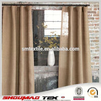 Wholesale 100% natural simple curtain design