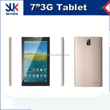 7 inch MTK8312 dual core 512MB RAM 4GB ROM 3G phone call android tablet pc
