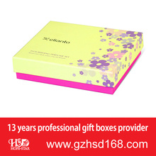 Industry Industrial Use and Recycled Materials Feature Cosmetic Products Packing Paper Box With Brand Printing