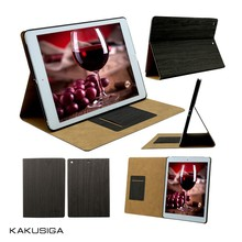 leather wood hard case wooden case for galaxy tab