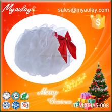 2015 funny christmas gifts , mesh shower sponge XMAS-008
