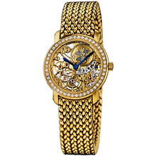 2015 the King of the gold skeleton wristwatch