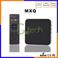 2015 hot sale Android4.4 4k*2k MXQ Quad S805 XBMC MXQ vlc media player codec
