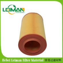 Caminhão pesado ar filtro C17237 FIAT filtro de ar / Pu tampas eficiência de filtração