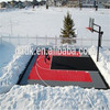 interlocked suspended mini basketball court flooring