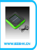 CE ROHS be supported big capacity popular cell phone charger 2600 mA modern portable solar pv cell phone charger