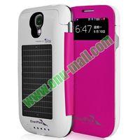 2500mAh Battery Solar Power Phone Case for Samsung Galaxy s4