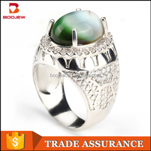 Wholesale fashion jewelry design 925 sterling silver ring, 625 silver ring, imitation jewelry sales man ring
