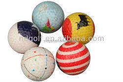 2 pieces Novelty golf balls funny golf ball series