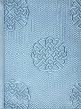 copy knitting 100%polyester(SPUN) woven jacquard mattress fabric /F1402-3/ brown