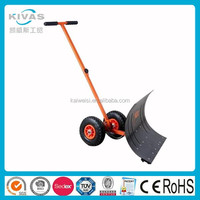 snow shovel blade with wheels adjustable snow shovel