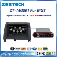 ZESTECH car dvd player for MG3 ZT-MG801 car stereo car radio