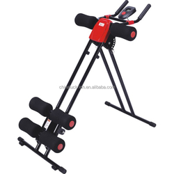 Machine Crunch Abdominal Ab Fitness Workout body Exercise Gym Glider Roller New