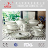 durable unique design fashionable fine bone china dinner and coffee set Mid-east style bone china dinner set dinner ware