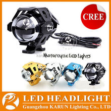 Hot-selling motorcycle parts DC 12-80V Waterproof led motorcycle spotlight U5 for moto bike BMW, Honda