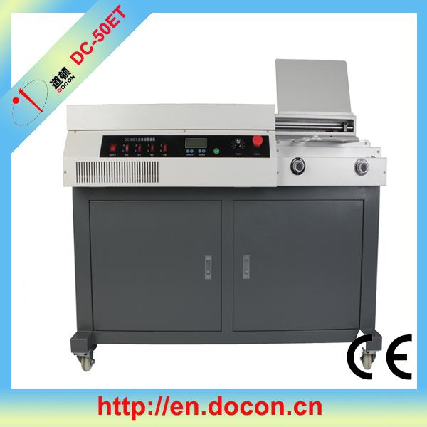 Dc-50et automática coladeira a4 tamanho, <span class=keywords><strong>encadernação</strong></span> de livros, máquina obrigatória da colagem