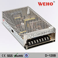 China manufacturer sell 120W Dual output switching power supply 24v 4a