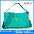 china 2015 caliente venta al por mayor de moda nuevos productos de nylon de colores la mujer de hombro bolsos bolsos de mano