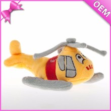 Meet EN71 and ASTM standard ICTI stuffed plush helicopter toys