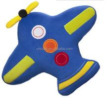 Pillow Airplane Plush Toy/Stuffed Pillow Toy Airplane/Soft Pillow Airplane