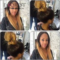Virgin Remy Ombre Lace Front Human Hair Wigs/ Brazilian Ombre Full Lace Human Hair Wigs For Black Women