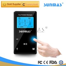 2015 hot selling SUNMAS 9028T TENS pulse machine pulse magnetic therapy
